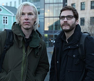 Benedict Cumberbatch is uncanny as Julian Assange