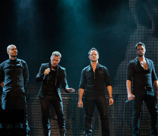 Boyzone embark on 20th anniversary tour