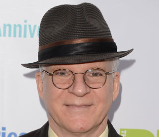 Steve Martin becomes a father?