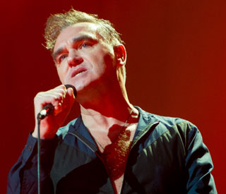 Morrissey plays first vegetarian gig
