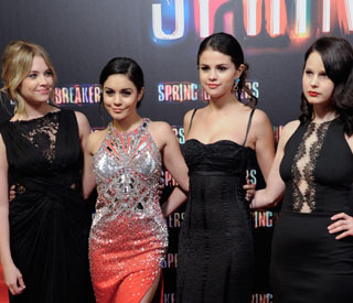 Disney stars sparkle at Madrid premiere