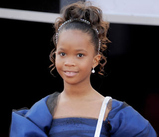 Quvenzhane Wallis cast as Annie
