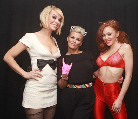 Reunited Atomic Kitten launching perfume range