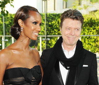 David Bowie's wife Iman sparks tour rumours