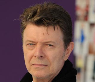 David Bowie celebrates first number one album in 20 years