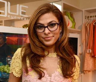 Eva Mendes reveals her love for glasses