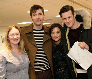 David Tennant returns for 'Doctor Who' rehearsals