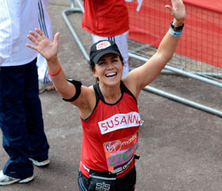 Presenter Susana Reid won't run Marathon again