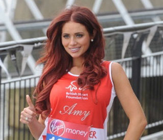 Amy Childs's safety measures for the London Marathon