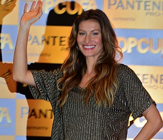 Gisele is new face of H & M