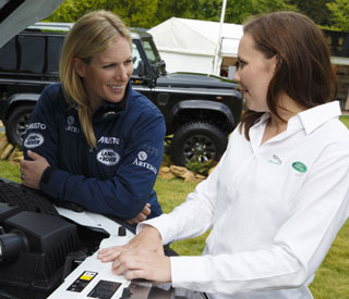 Zara Phillips launches Range Rover scholarship