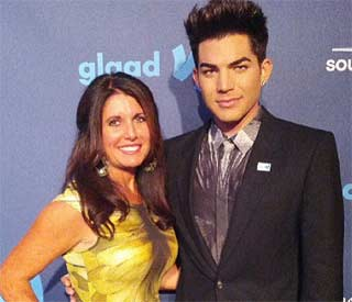Adam Lambert wins GLAAD award