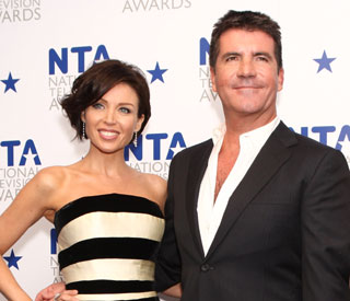 Dannii Minogue and Simon Cowell reconcile