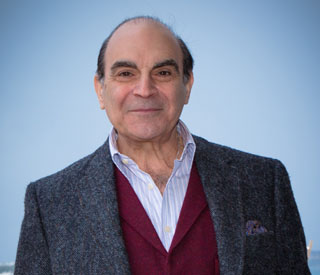 David Suchet was warned against Poirot role