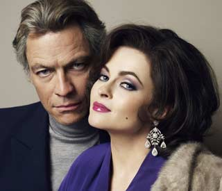 Helena Bonham Carter as Elizabeth Taylor for BBC drama