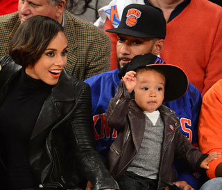 Alicia Keys' son Egypt keen to be in the limelight