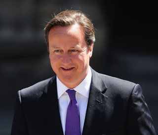 David Cameron praises sucess of British music industry