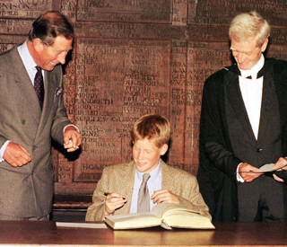 Date in history: Prince Harry enrolls at Eton