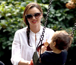 Miranda Kerr enjoys bonding time with son