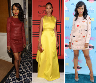 Kerry Washington voted best dressed woman