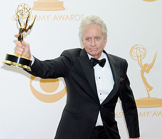 Michael Douglas 'working things out' with Catherine