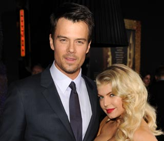 Fergie enjoys first night out since giving birth
