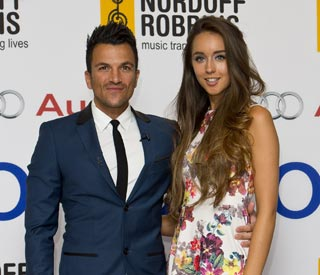 Peter Andre loves Emily's maternity style