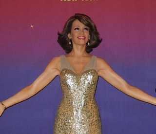 Whitney Houston's wax tribute comes to London