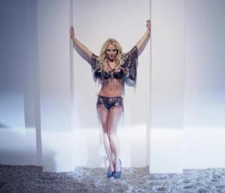 Britney unveils racy new video
