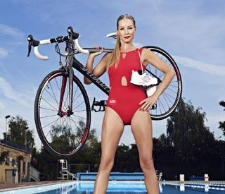 Denise Van Outen gears up for next challenge