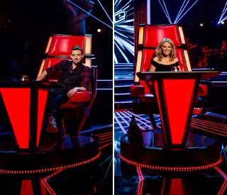 New judges take their seats for The Voice