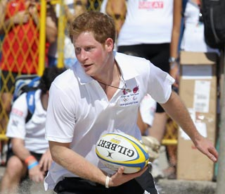 Prince Harry to coach rugby session