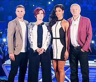 X Factor live shows kick of with '80s extravaganza