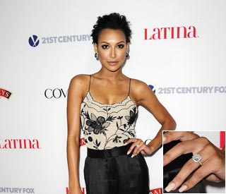 Glee's Naya Riviera confirms engagement