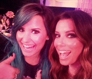 Eva Longoria and Demi Lovato accept awards in Mexico City