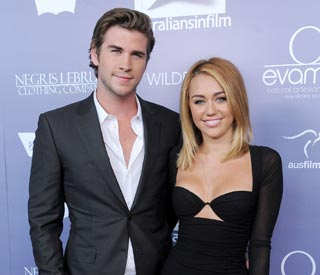 Miley Cyrus sends Liam's clothes to a charity shop