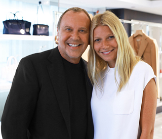 Gwyneth Paltrow and Michael Kors to design new fashion collection