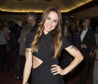 Mel C wows in cut-out dress