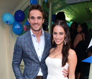 Thom Evans splits from girlfriend