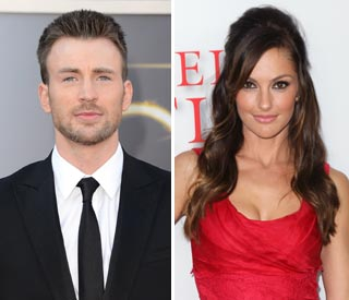 Minka Kelly splits from Chris Evans