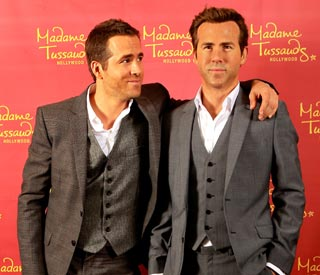 Ryan Reynolds celebrates birthday with wax figure