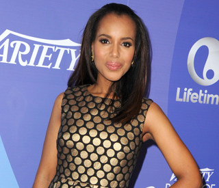 Kerry Washington four months pregnant