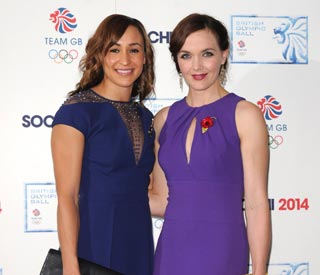 Olympic beauties shine on red carpet