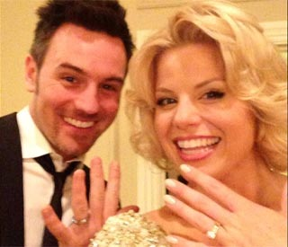 Smash star Megan Hilty weds in Las Vegas