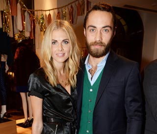 Donna Air stylish on outing with James Middleton