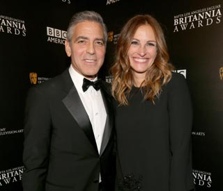 Julia Roberts presents award to 'great friend' George