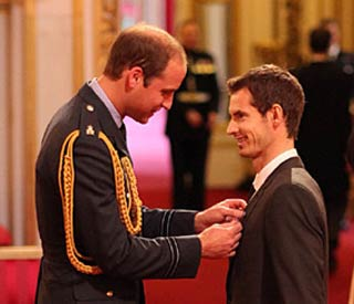 William stands in for Queen at investiture ceremony