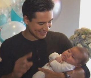 Mario Lopez introduces baby Dominic