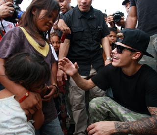 Justin Beiber visits the Philippines