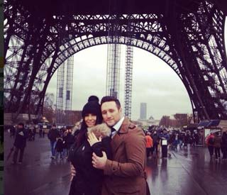 Antony Costa gets engaged